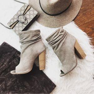 CL Kristin Cavallari Laurel Peep Toe Booties